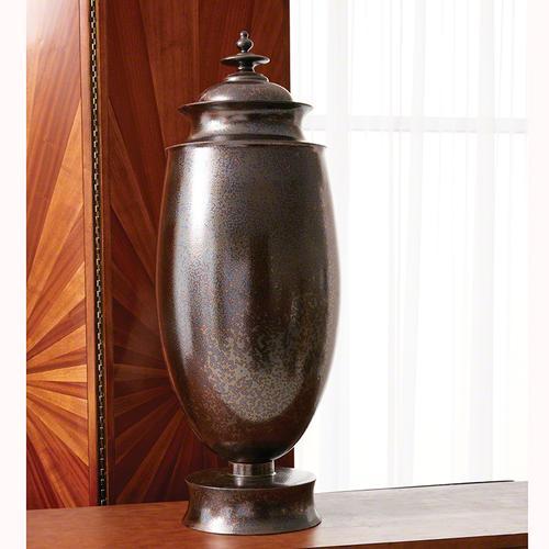 Tabernacle Jar-Deep Aubergine