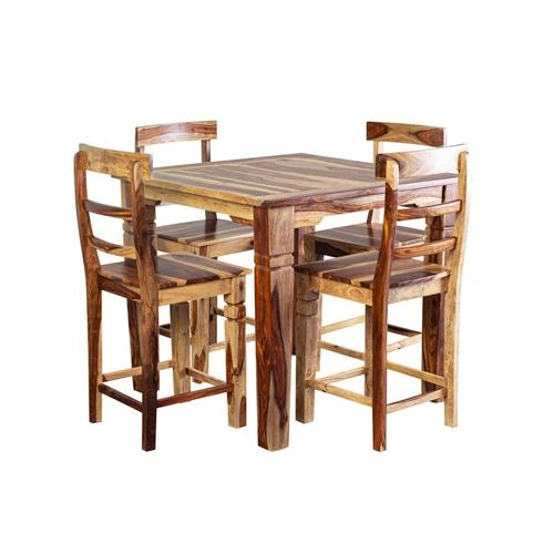 "Tahoe Square 40"" Gathering Table & 24"" Counter Chairs, SBA-9027N"