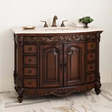 See Details - Provincial Medium Sink Chest - Dark