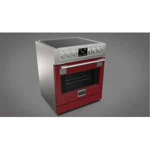 """30"""" Induction Pro Range - Glossy Red Product Image"""