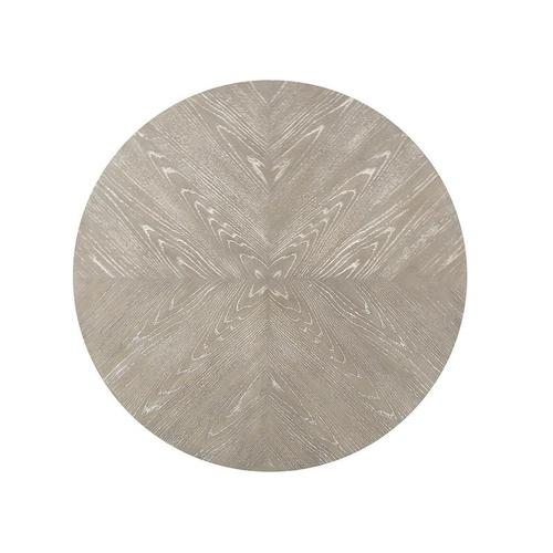 Magnussen Home - Round Accent Cocktail Table - Grey