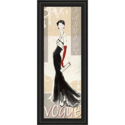 "Classy Art - ""Vogue"" By Tava Studios Framed Print Wall Art"