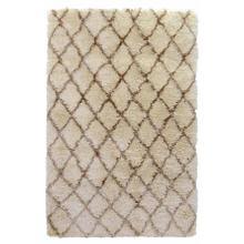 See Details - Diamond Ritz Shag Ivory 5x8
