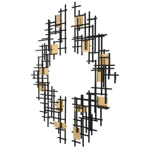 Uttermost - Reflection Metal Wall Decor, S/2