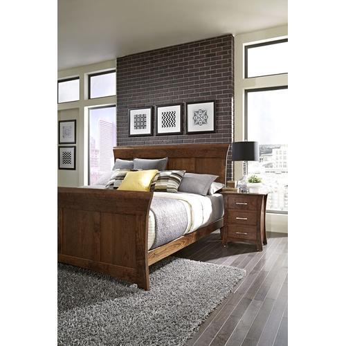 Loft II Panel Bed, King