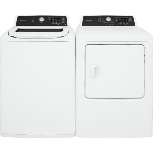 Frigidaire - Frigidaire 6.7 Cu. Ft. Free Standing Electric Dryer