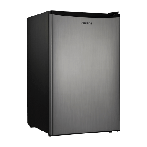 Galanz 4.3 Cu Ft Mini Refrigerator in Stainless Steel Look
