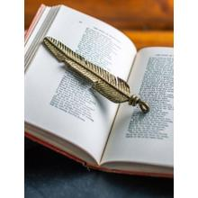 View Product - Hand-Forged Feather Charm
