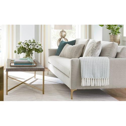 Bassett Furniture - Serafina Bench Seat Sofa