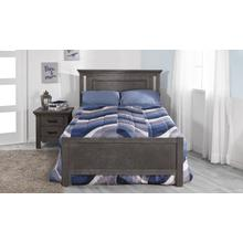 See Details - Como Flat Top Full-Size Bed Rails