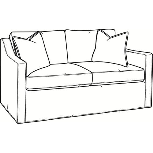 Braxton Culler Inc - Oliver Loveseat with Slipcover