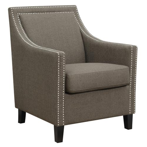 Janelle Accent Chair, Brown U3671-05-05a