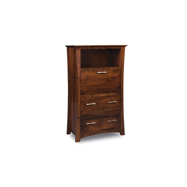 Loft Laptop Cabinet with File Drawer