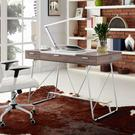 Panel Office Desk in Birch Product Image