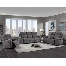 Crawford 3-Piece Manual Motion Set (Sofa, Loveseat & Chair)