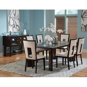 Delano 60-78 inch Dining Table with 18 inch Leaf