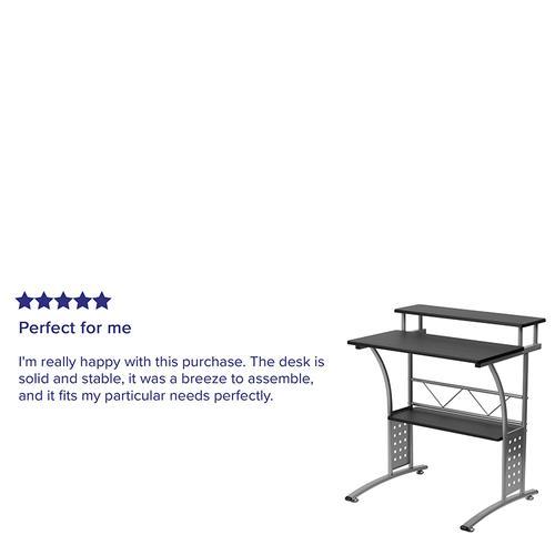 Flash Furniture - Clifton Black Computer Desk