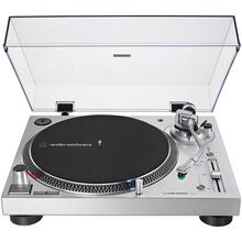 Analog and USB Direct Drive Turntable (Silver)
