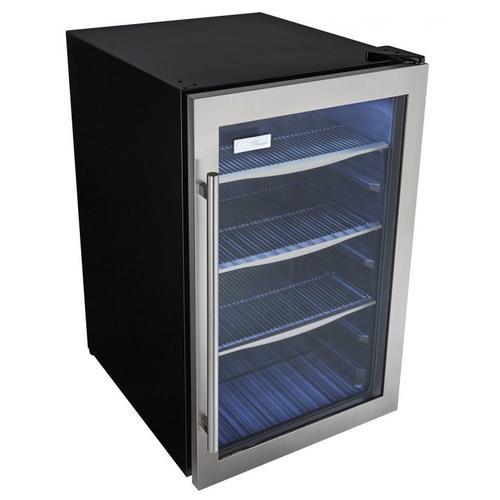 Danby - Danby Designer 124 (355mL) Can Capacity Beverage Center