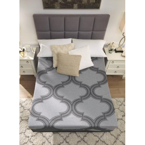 12 Inch Ashley Hybrid King Adjustable Base and Mattress
