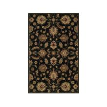 England Floor Coverings Pars Kashan K-2687 Black 5' x 8' Rectangle 101210