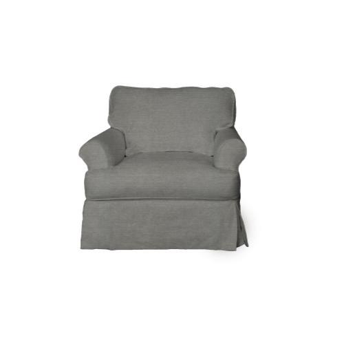 Sunset Trading Horizon Slipcovered Chair - Color: 391094
