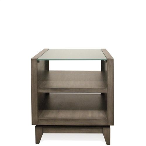 Vogue - Side Table - Gray Wash Finish