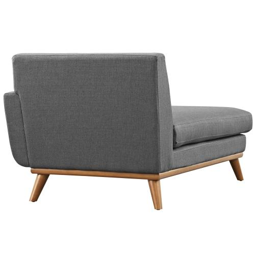 Modway - Engage Right-Facing Chaise in Gray
