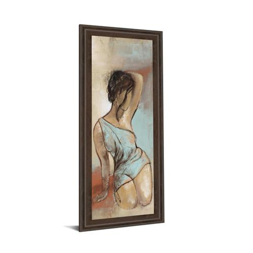 """Seated Woman Panel Il"" By Lannie Loreth Framed Print Wall Art"