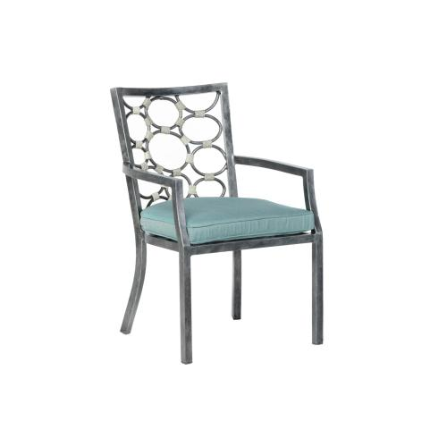 Pebble Brook Dining Arm Chair