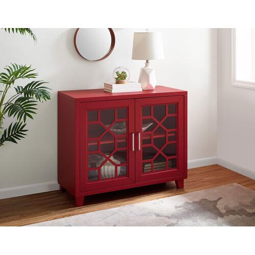 """Gallery - Tuscany Accent cabinet Red 38""""X15.75""""X32"""""""