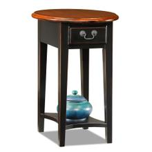 Slate Shaker Oval Side Table #9042-SL