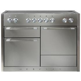 AGA Mercury 48 Induction Stainless Steel with Chrome trim