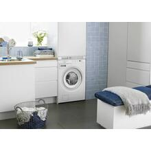 White Family Size Washer