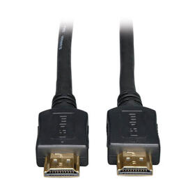 High-Speed HDMI Cable, Digital Video with Audio, UHD 4K (M/M), Black, 25 ft.