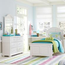 View Product - Full Panel Bed, Dresser & Mirror