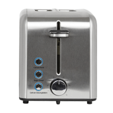 Kalorik 2-Slice Rapid Toaster, Stainless Steel
