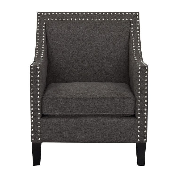 Hailey Accent Chair, Brown