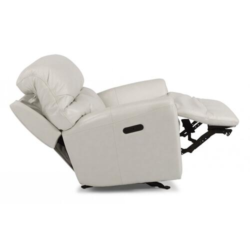 Craze Leather Power Gliding Recliner with Power Headrest
