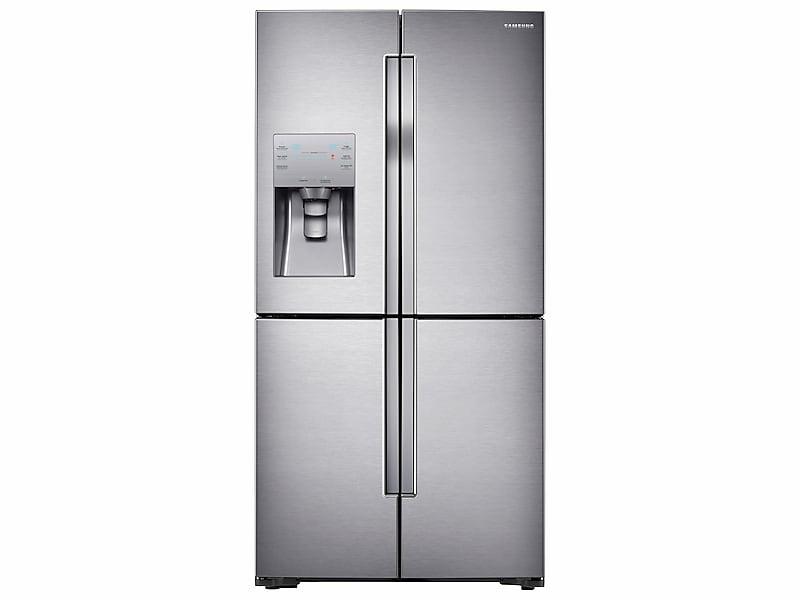 Samsung23 Cu. Ft. Counter Depth 4-Door Flex™ Refrigerator With Flexzone™ In Stainless Steel