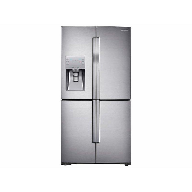 23 cu. ft. Counter Depth 4-Door Flex™ Refrigerator with FlexZone™ in Stainless Steel