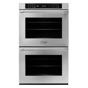 "Dacor30"" Double Wall Oven, Silver Stainless Steel with Pro Style Handle"