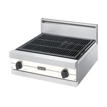"""See Details - Cotton White 24"""" Gas Char-Grill - VGQT (24"""" wide char-grill)"""