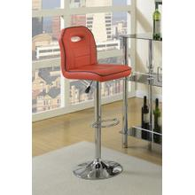 See Details - Ivan Bar Stool, Red