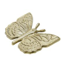 """Metal 7"""" Butterfly Table Deco, Gold"""