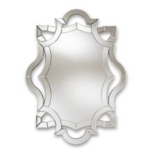 See Details - Baxton Studio Colina Modern and Contemporary Silver Finished Accent Wall Mirror