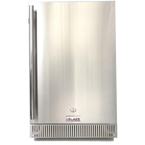Blaze Grills - Blaze 4.1 Cu. Ft. Outdoor Stainless Steel Compact Refrigerator - UL Approved