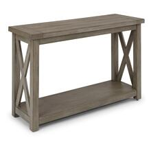 5525-22 Mountain Lodge Gray Console Table