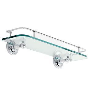 "Satin-Nickel 18"" Gallery Rail Shelf Product Image"
