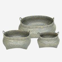 See Details - Mura Oval Handled Baskets